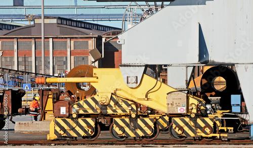 cranes and rails