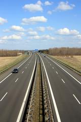 A 38, Autobahn bei Leipzig