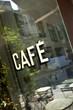 Terrasse d'un vieux café français
