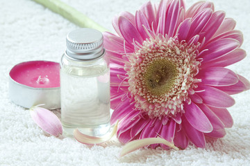 Flower Essential Oil Bottle