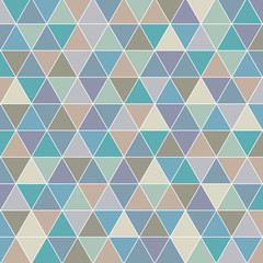 seamless triangle abstract pattern