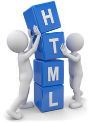 Männchen stapeln html