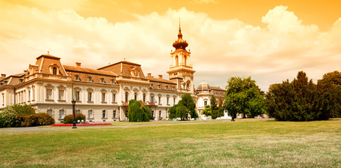 Festetics castle in Keszthely,Hungary