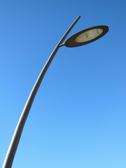 street lamp and lamppost