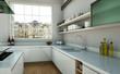 moderne Küche im Loft