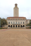 Main Building on the University of Texas at Austin campus vertic