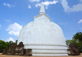 Polonnaruwa Ancient Stupa