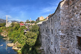 View of Mostar, Bosnia and Herzegovina