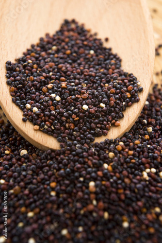 Black Quinoa grain
