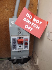 Electrical safety concept