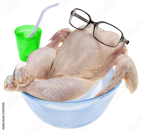 fresh raw chicken