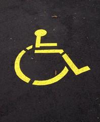 Parcheggio disabile