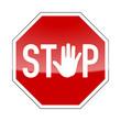 stop-schild hand II