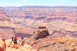 Grand Canyon hiking people