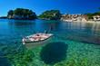 Leinwanddruck Bild - Parga tourist restort in north Greece