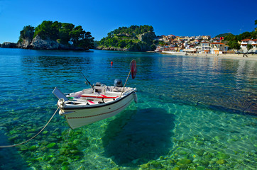 Parga tourist restort in north Greece