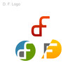 D. F. Logo