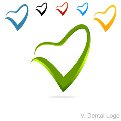 V. Dental Logo