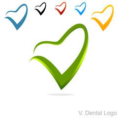 V. Dental Logo