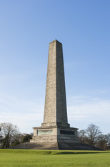 Wellington monument in Phoenix park. Dublin
