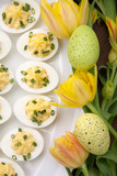 Deviled Eggs for Easter
