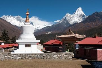 Stupa at Tengboche Monastery, Solukhumbu, Nepal