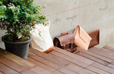 Fashion Leather Bags on Wood Step Floor