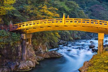 Shinkyo Sacred Bridge of Nikko, Japan