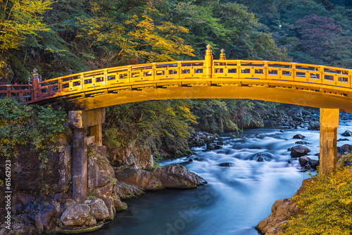 Shinkyo Sacred Bridge of Nikko, Japan