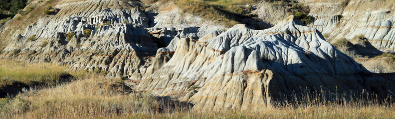 Folded weathered rock formation