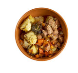 Stew with Carrots and Potatoes