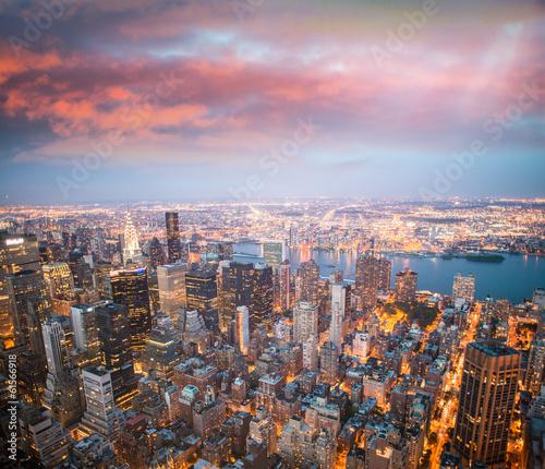 Nowy Jork o zmierzchu