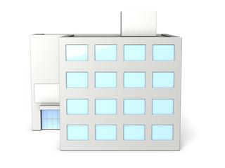 Miniature models of buildings