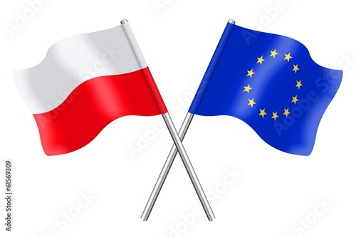 Flags : Europe and Poland
