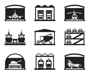 Transportation garages and warehouses