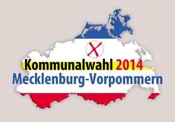 Kommunlawahl 2014 Mecklenburg-Vorpommern