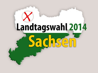 Landtagswahl 2014 Sachsen