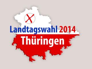 Landtagswahl 2014 Thürigen