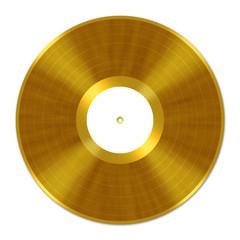 Golden Vinyl Record, Schallplatte