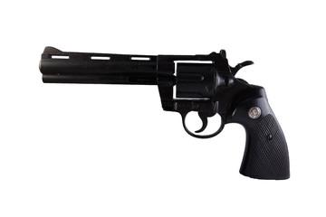 a black magnum 357 Revolver