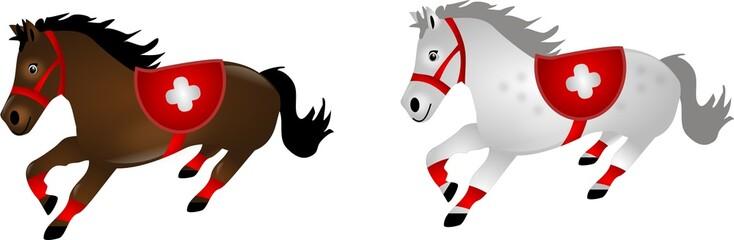Horses as paramedics