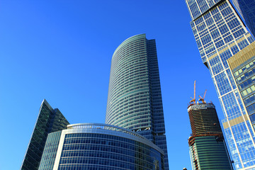 """Embankment Tower"" in Complex ""Moscow City"""