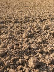 Plowed Field Background