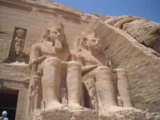 wonderful Abu Simbel temple