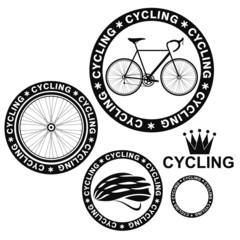 Cycling. Set