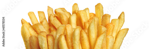 Leinwandbild Motiv French fries
