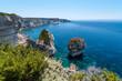 Küste von Bonifacio, Korsika, Frankreich