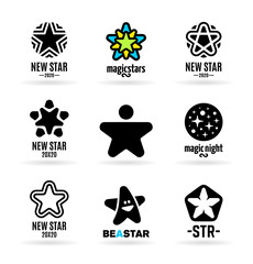 Set of vector stars (5)