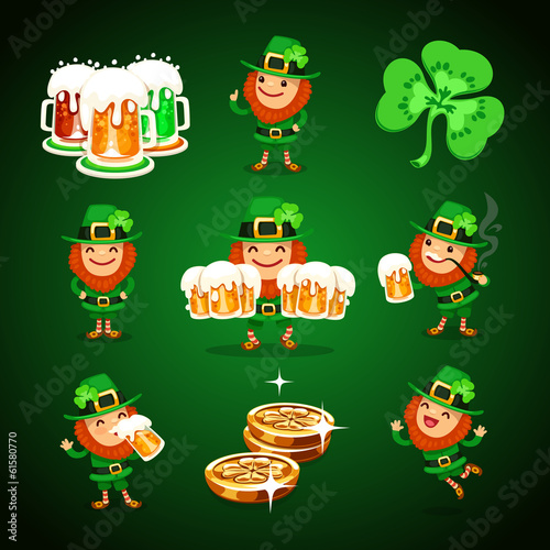 st.Patrick's Day's set