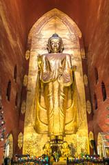 Buddha Statue in Ananda Temple - Bagan Myanmar